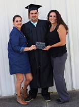C.C. and Alex's Stepmom Kyla at Graduation