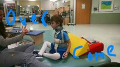 Jackson's First Time Sitting Up at Scottish Rite
